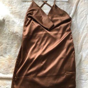 Very sexy scoop neck dress